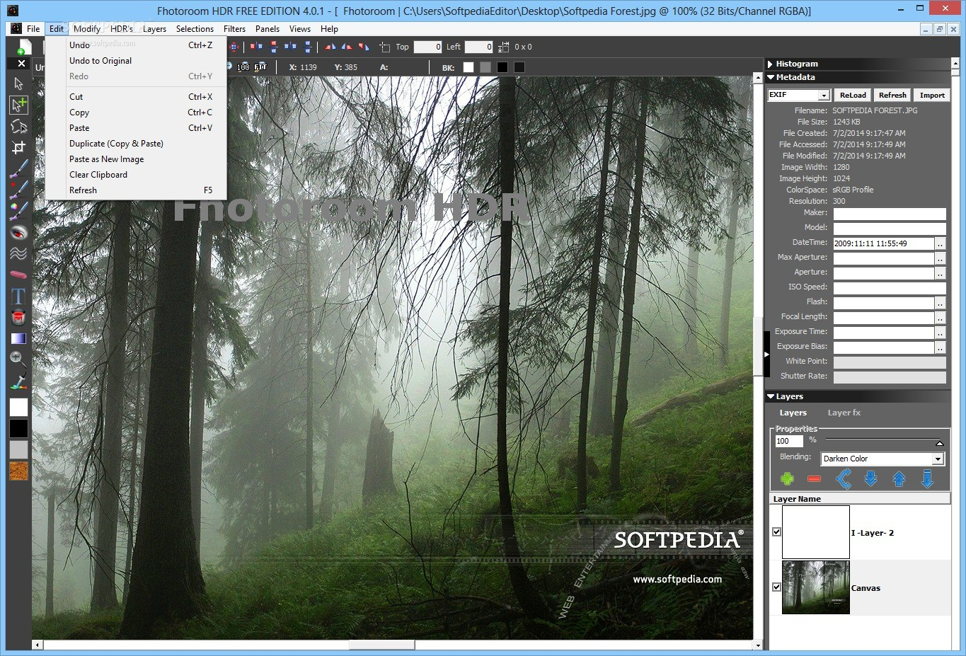 Convert images to HDR using the EXR format - Image converter Free online hdr photo editor