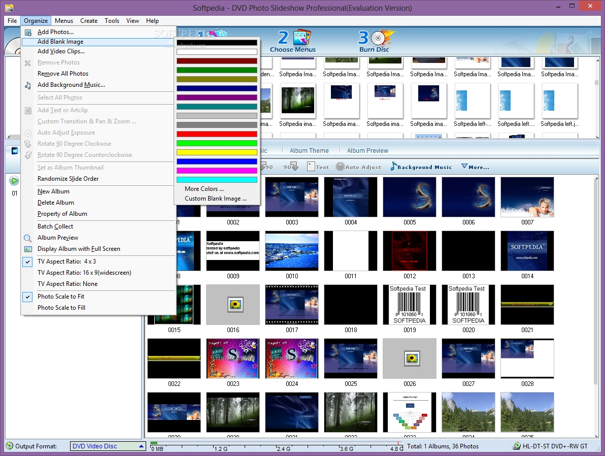 Features of Photo Flash Maker Platinum- Creating Flash How to create dvd photo slideshows in windows xp