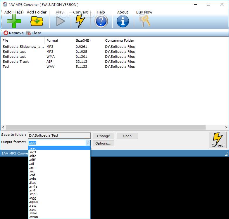 Download 1AV MP3 Converter 1 0 1 00