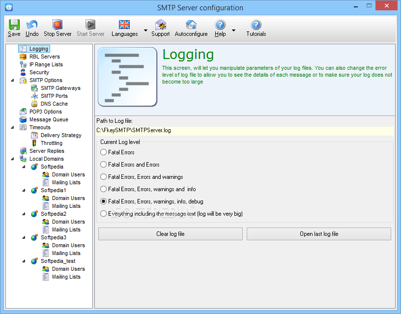 Download Best SMTP Server (formerly 1st Mail Server) 5 26 0 93
