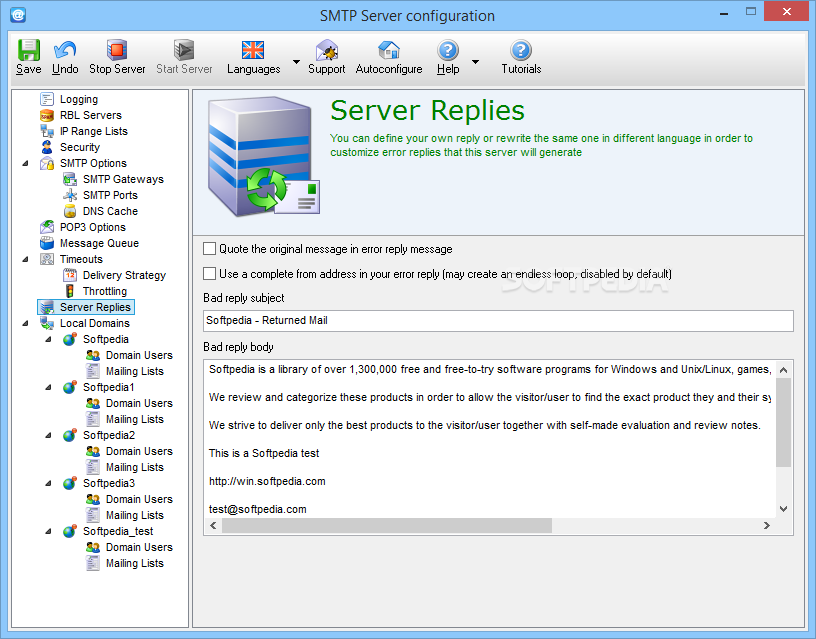 Download Best SMTP Server (formerly 1st Mail Server) 5 26 0 93