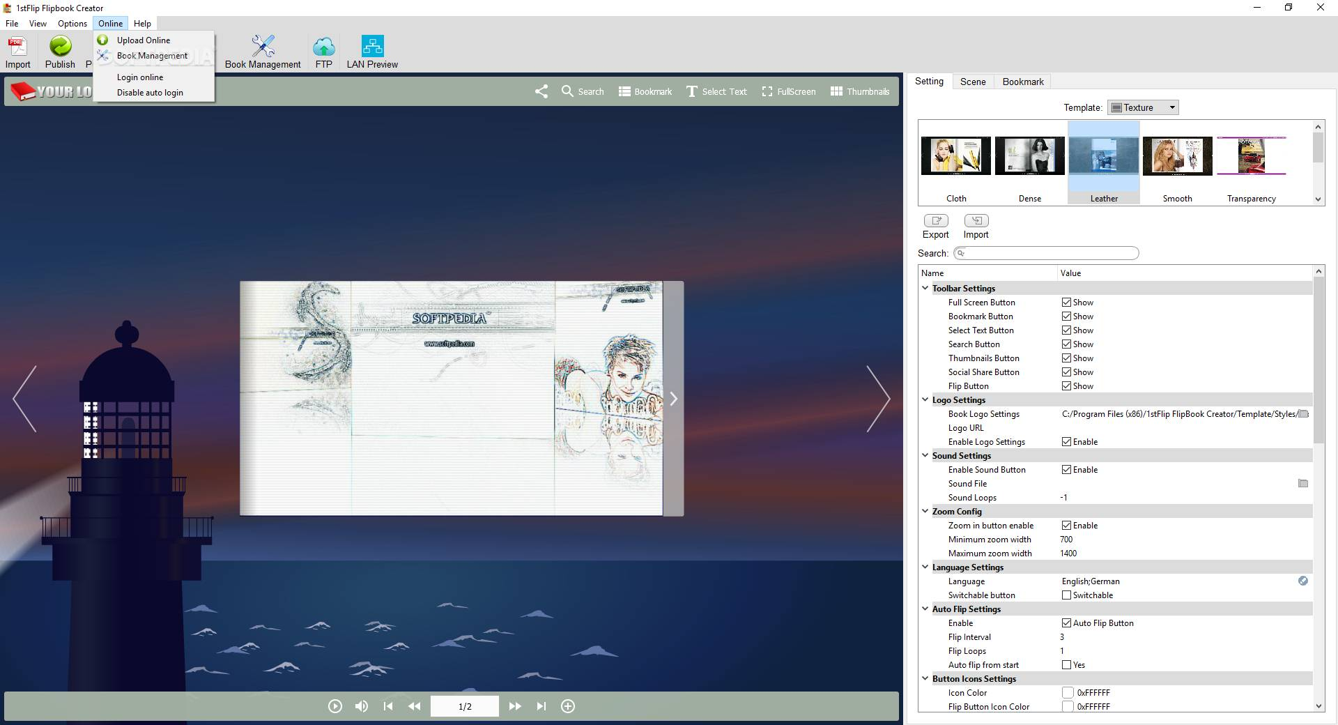 how to download flipbook file