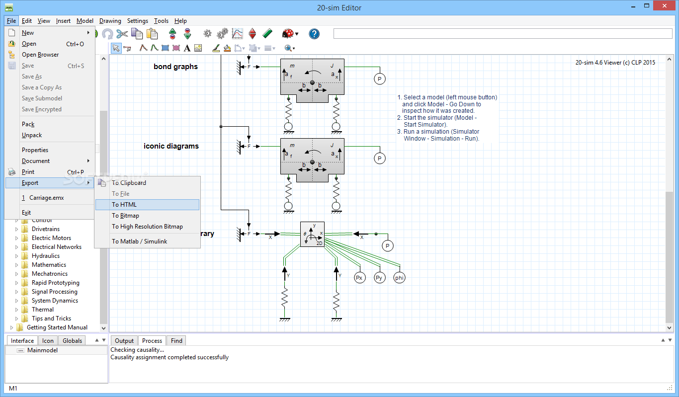 Download 20 Sim 471 Build 8902 Easy To Use Electrical Schematic And Hydraulic Software