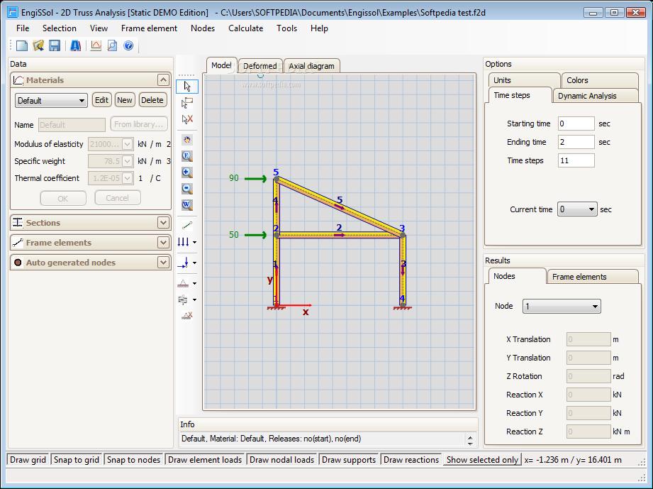 Download 2D Truss Analysis 2.0