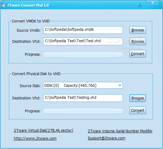 Download 2Tware Convert Vhd 1 0 4