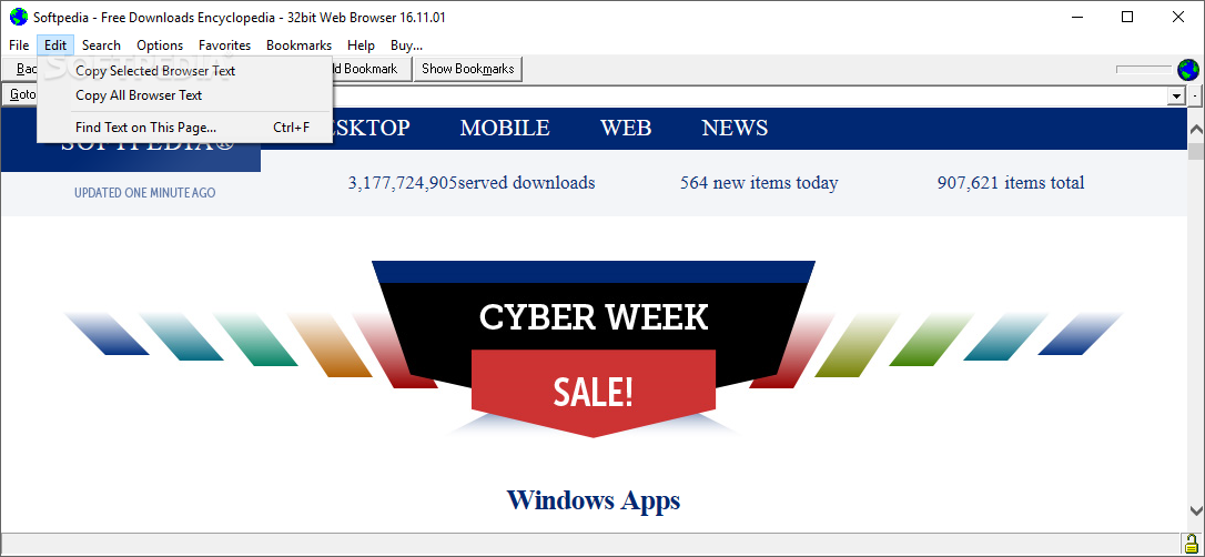 Mobile internet browsers download