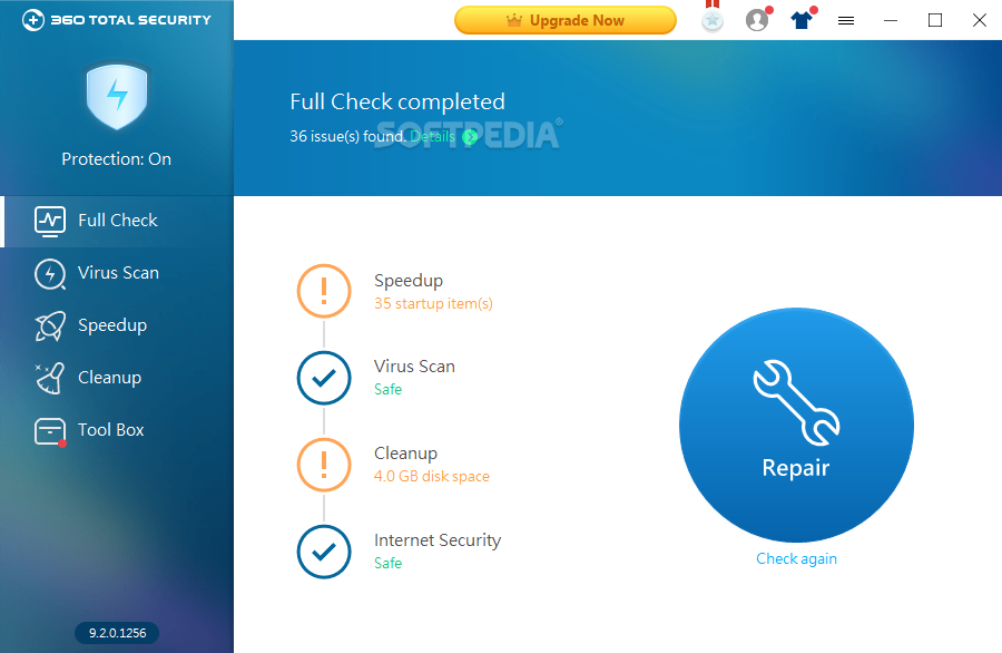 Download 360 Total Security 9 6 0 1367 10 0 0 1043 Beta