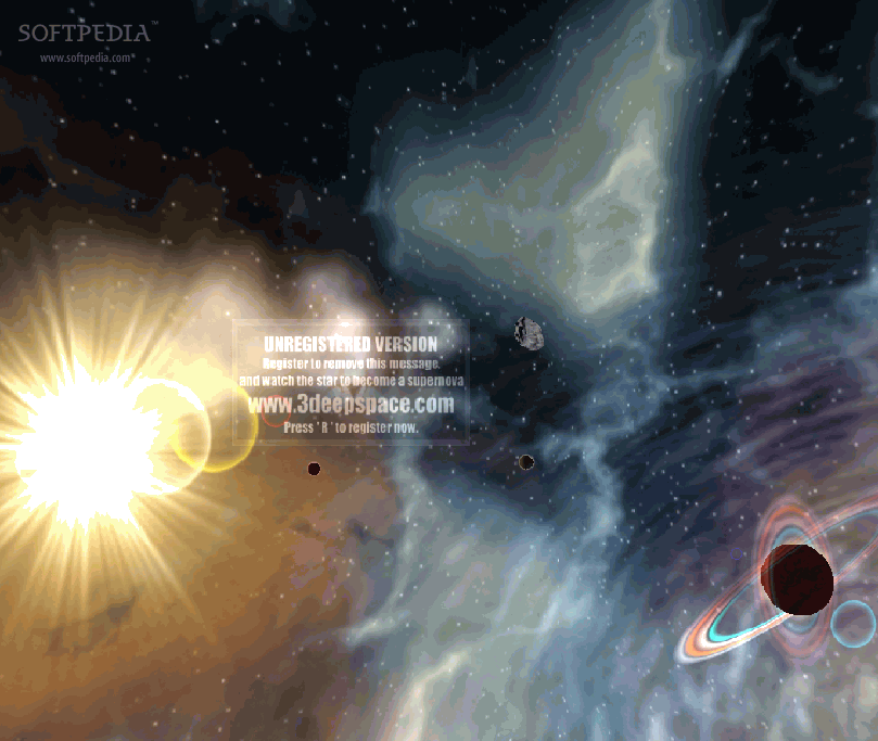 3D Supernova Screensaver Download