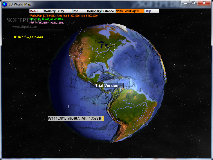 Download 3D World Map 2.1