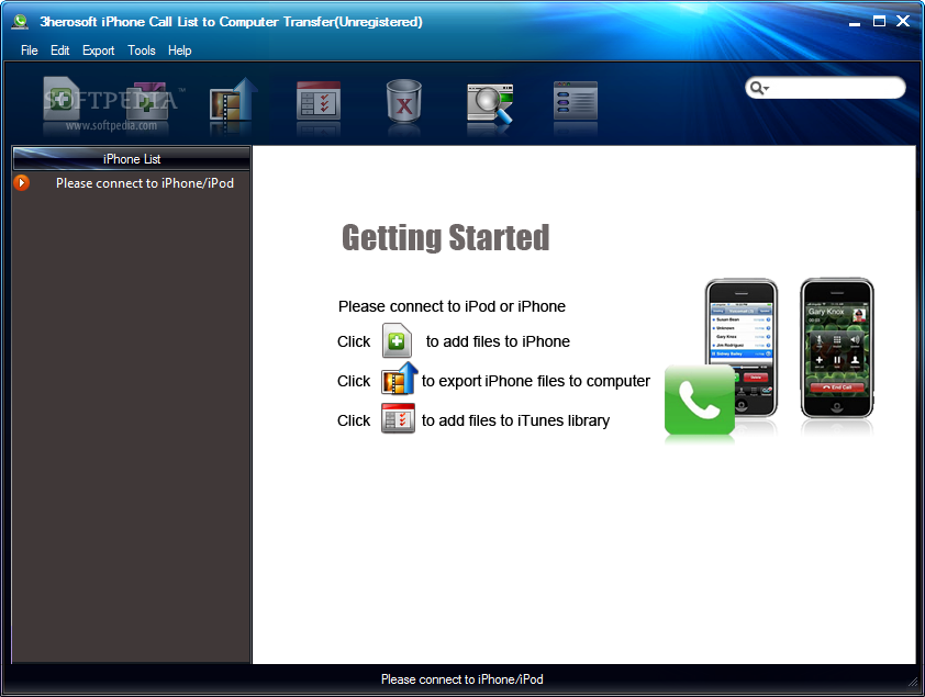 3herosoft Iphone Call List To Computer Transfer Download