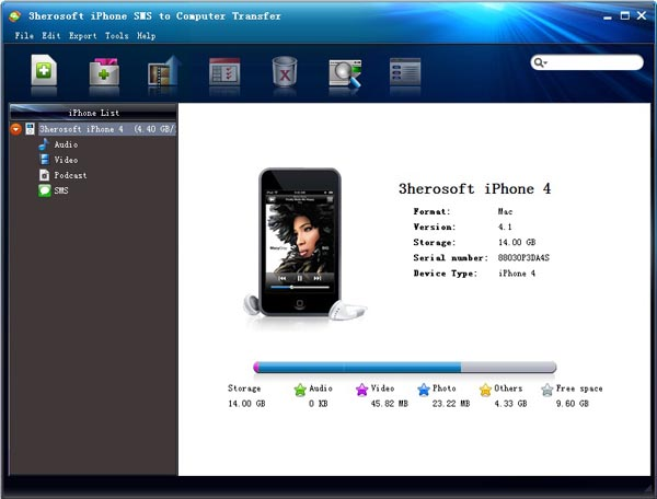 Download 3herosoft Iphone Sms To Computer Transfer 4 3 1