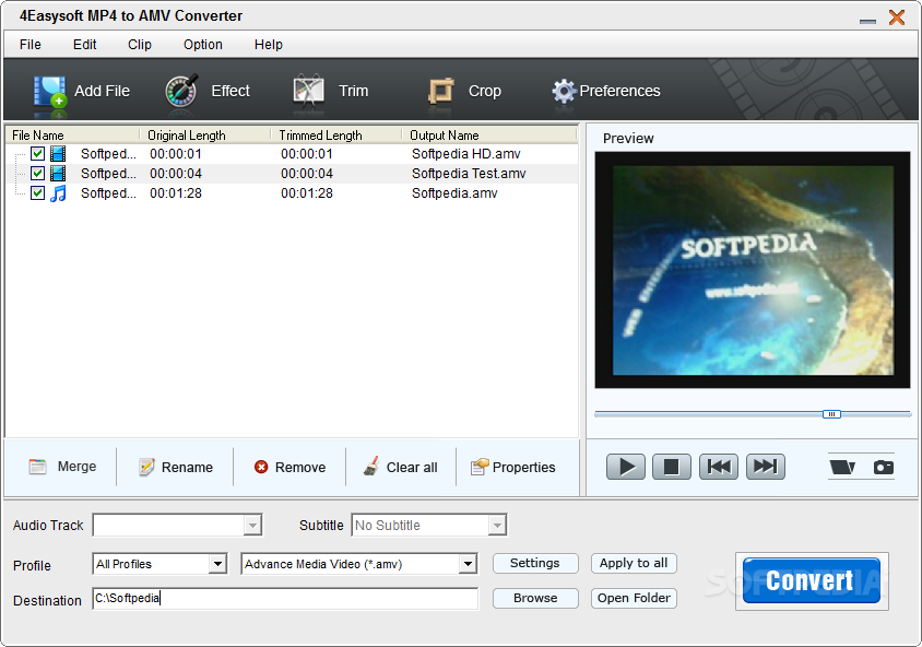 mp4 to amv converter free download software