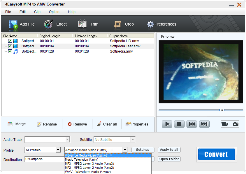 free mp4 to amv converter