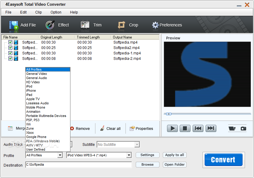 Download 4easysoft total video converter 3226 ccuart Choice Image