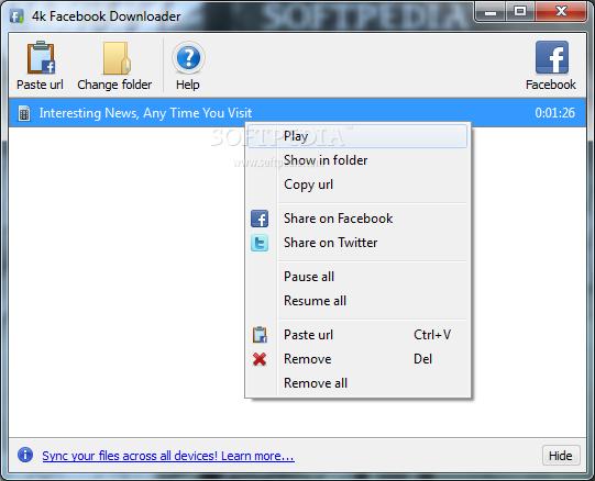 facebook image downloader