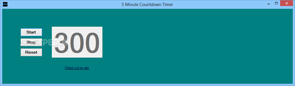 download 5 minute countdown timer 1 0 0 1