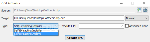Download 7z SFX-Creator 1 3