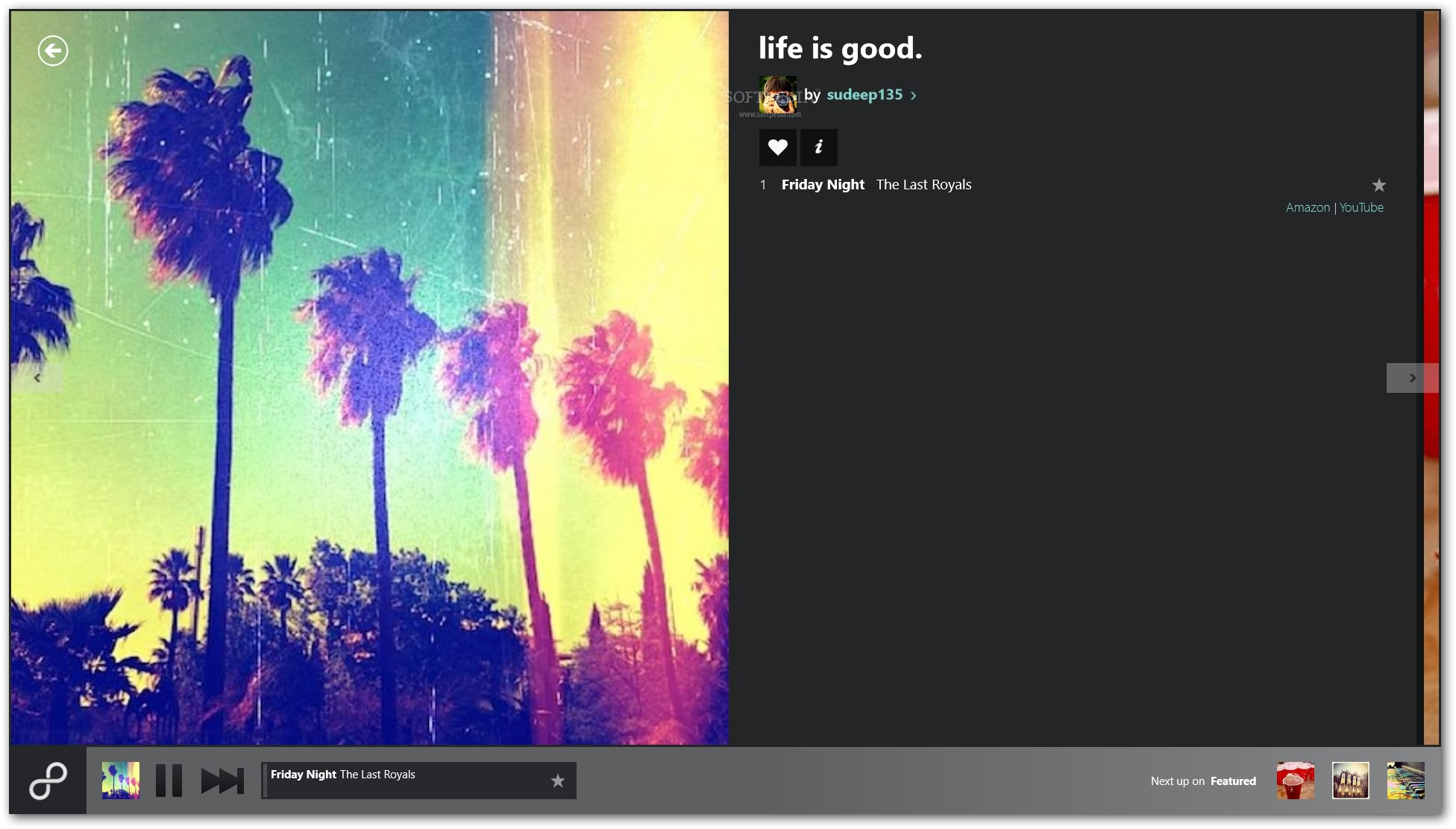 Official 8tracks Radio App For Windows 8 Impresses With