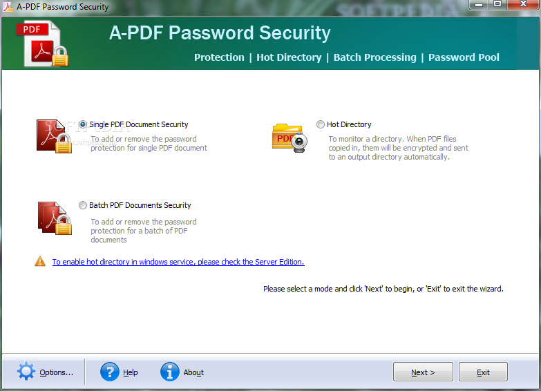 A-PDF Password Security 3.4.3