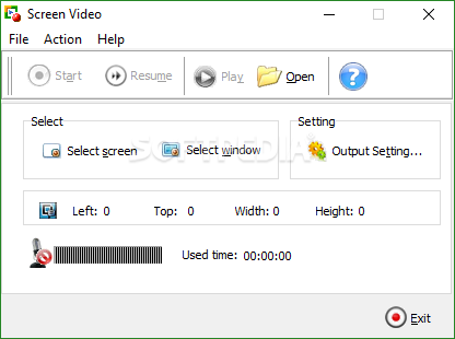 Fastaccess video capture download