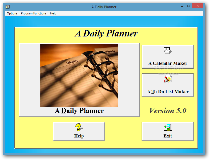 download a daily planner formerly a simple daily planner 5 0