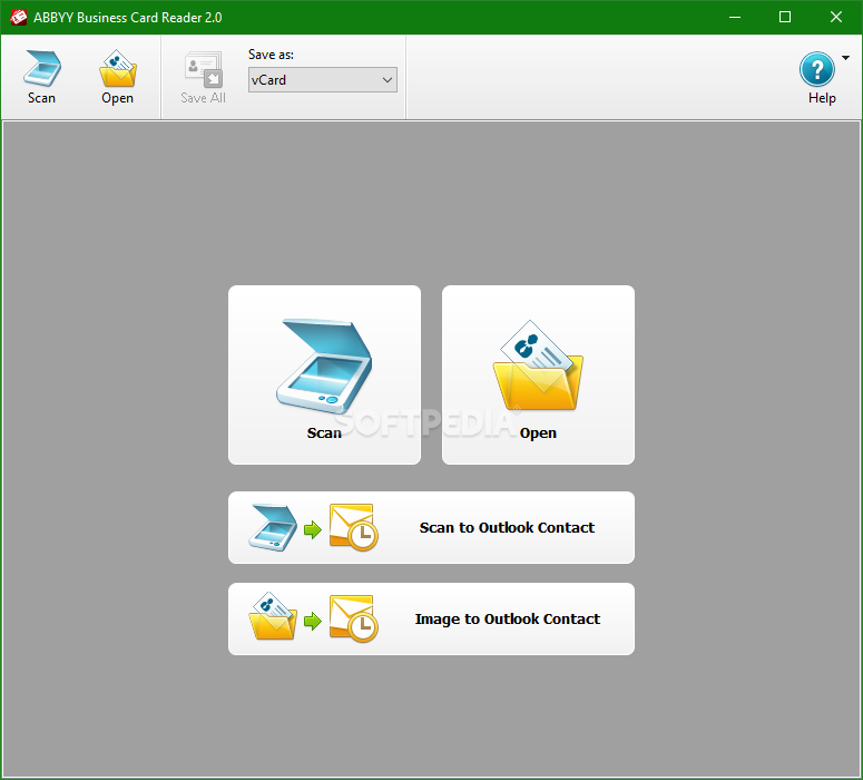 Download ABBYY Business Card Reader 2.0