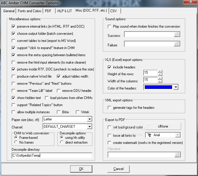 Download ABC Amber CHM Converter 7.37 for free