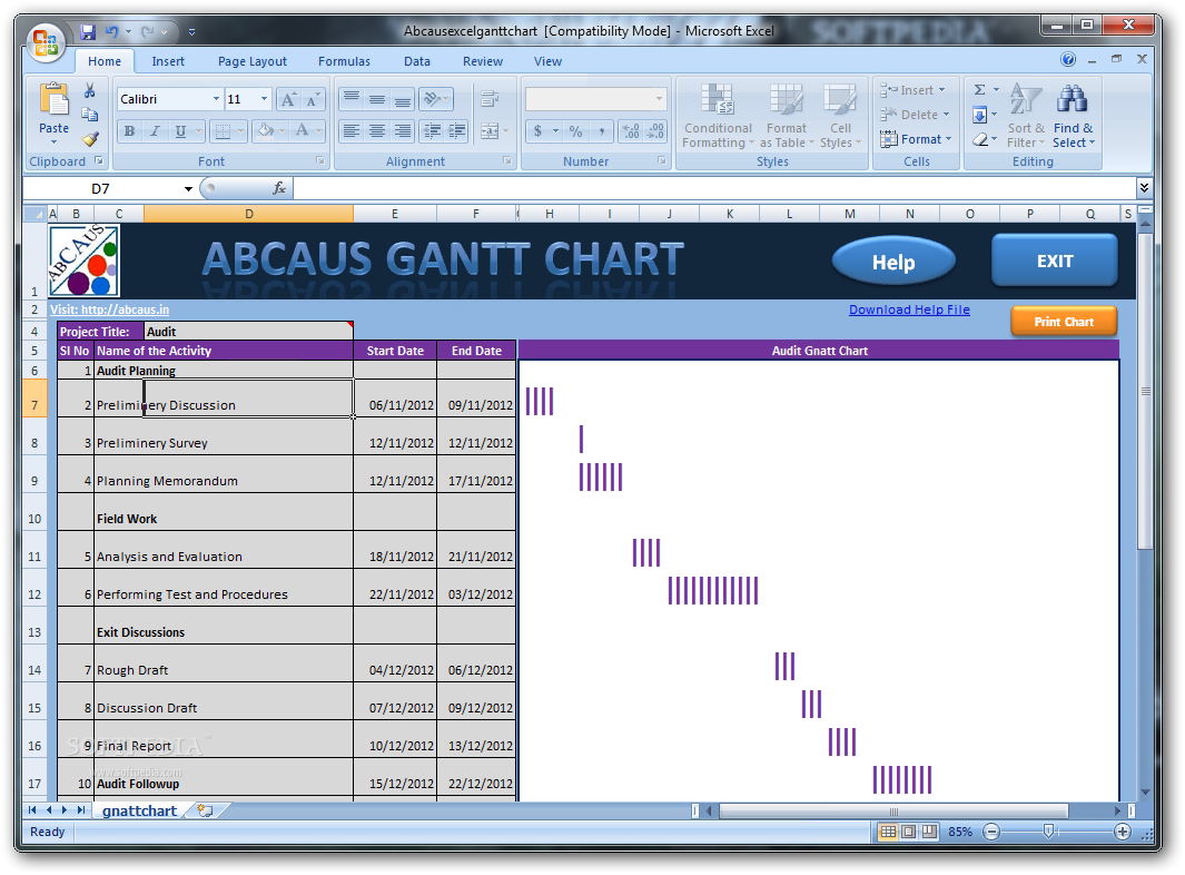 Sample chart templates gantt chart template excel 2003 free sample chart templates gantt chart template excel 2003 excel gantt chart abcaus excel gantt alramifo Image collections
