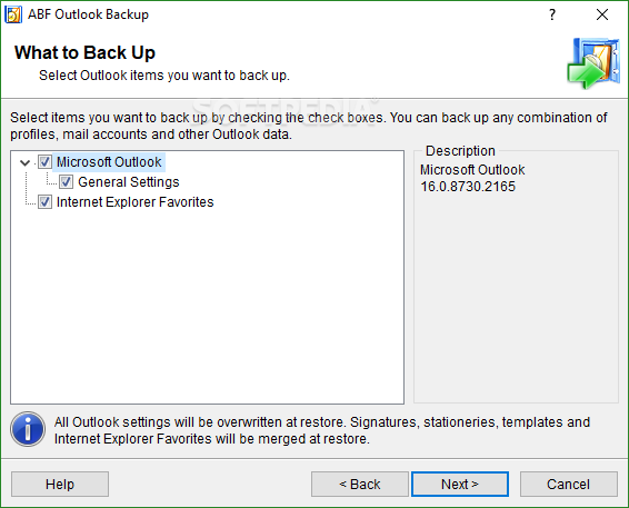Abf outlook backup 3 serial numbers