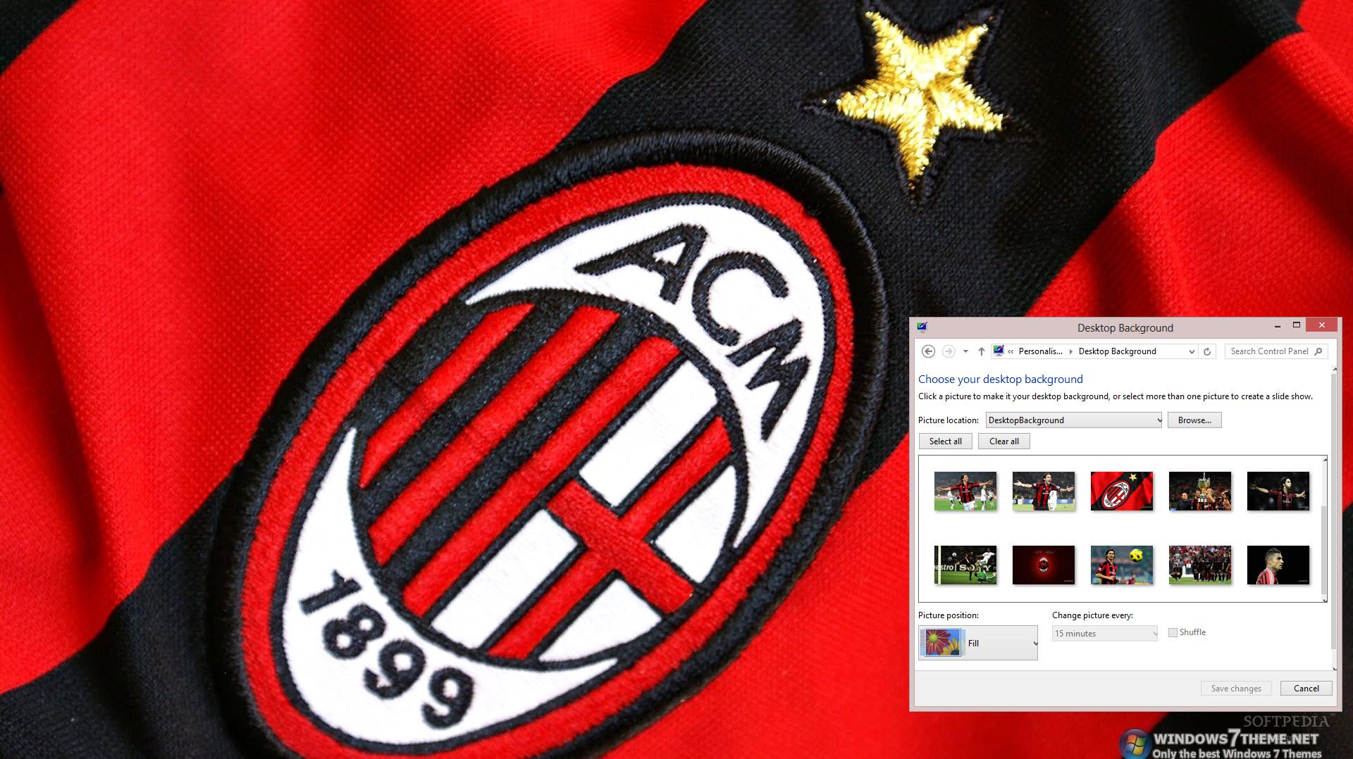 A. C. Milan | windows 10 themes.