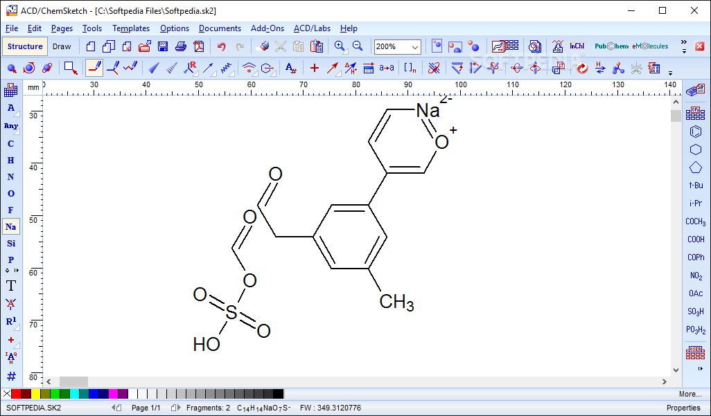 Download ChemSketch 2018 2 5 Build 106041