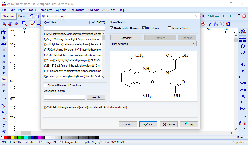 ChemSketch App Free Download for PC Windows 10