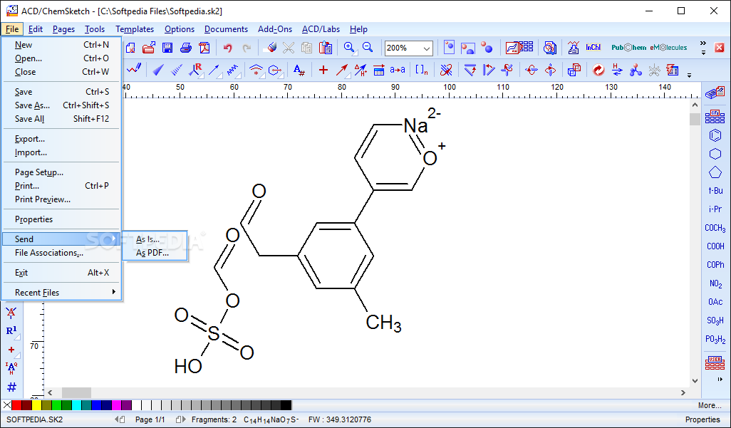 Chemsketch software free download.