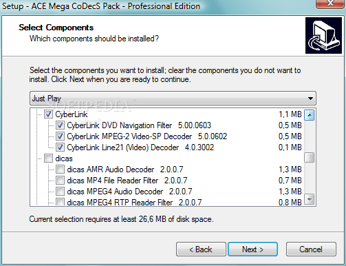 Ace mega codecs pack