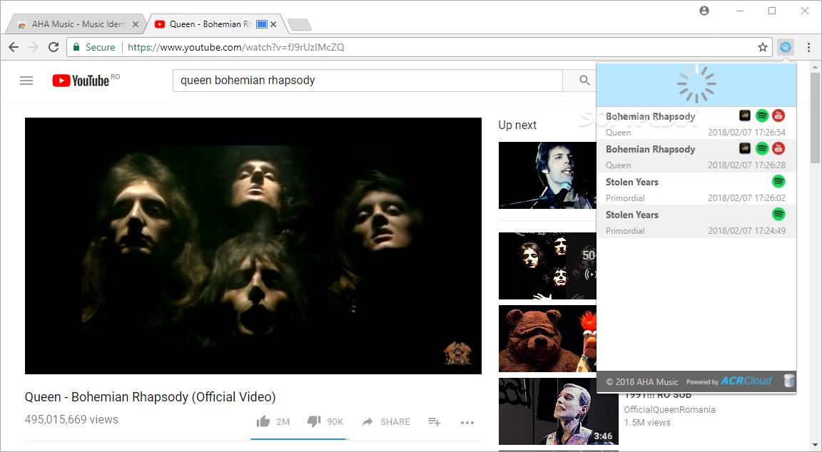 Download AHA Music – Music Identifier for Chrome 0 2 2