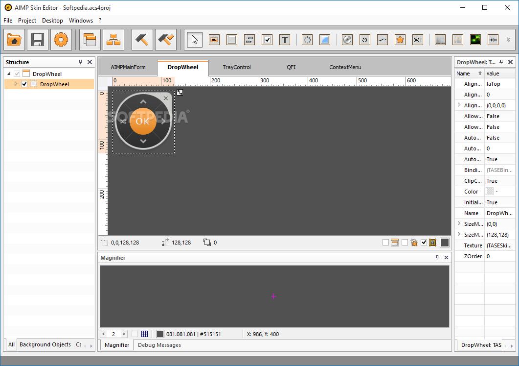 Aimp4 skin editor