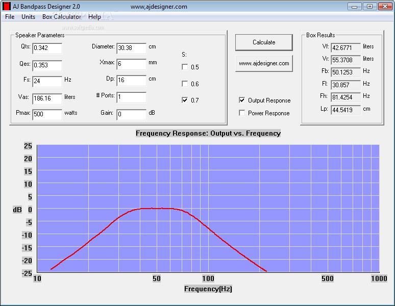 Download Aj Bandpass Designer 2 0