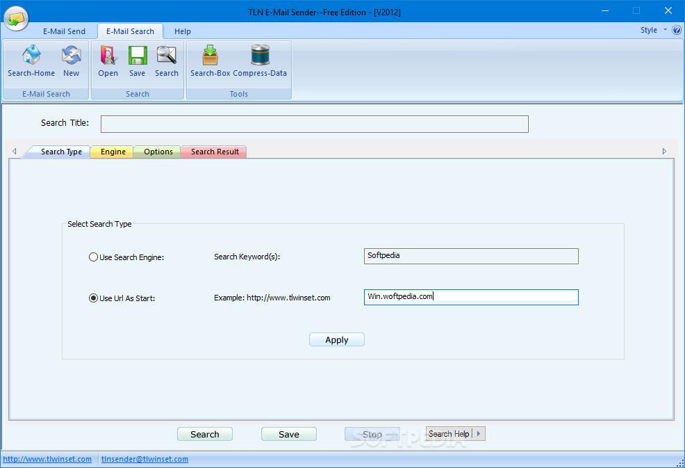 Download TLN E-mail Sender (formerly TLN Auto Bulk Email Sender) 2012