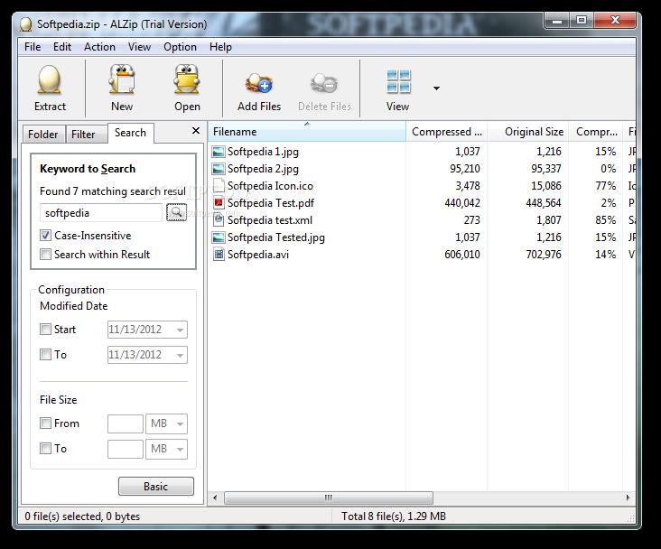 alzip windows 7