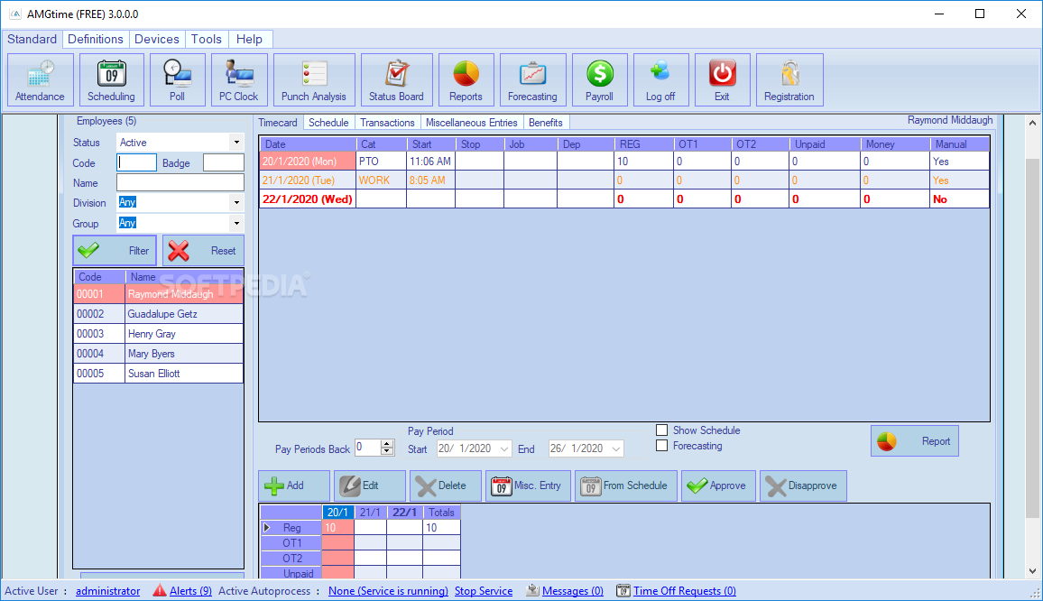 Download AMG Attendance System 1 15 12 3