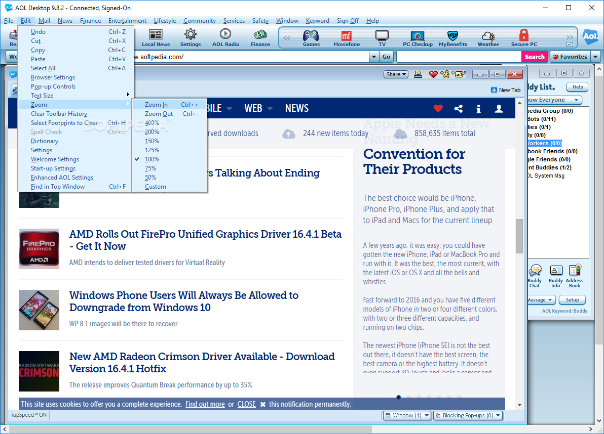 download aol 9.7 for windows 7