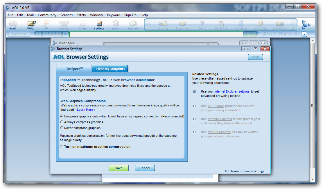 aol 9.0 software
