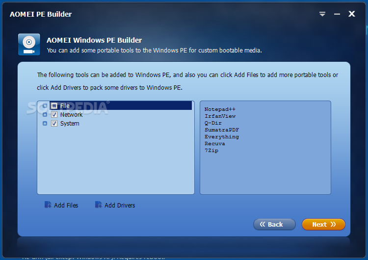 Download AOMEI PE Builder 2 0