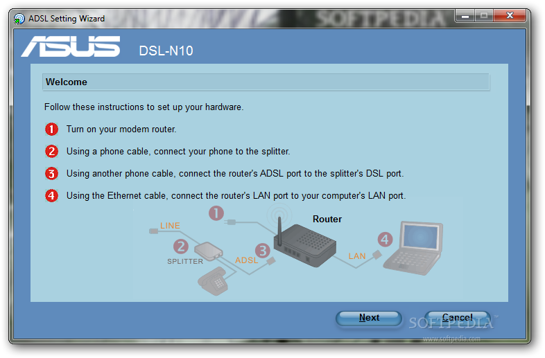 asus dsl n10 wireless router utilities download