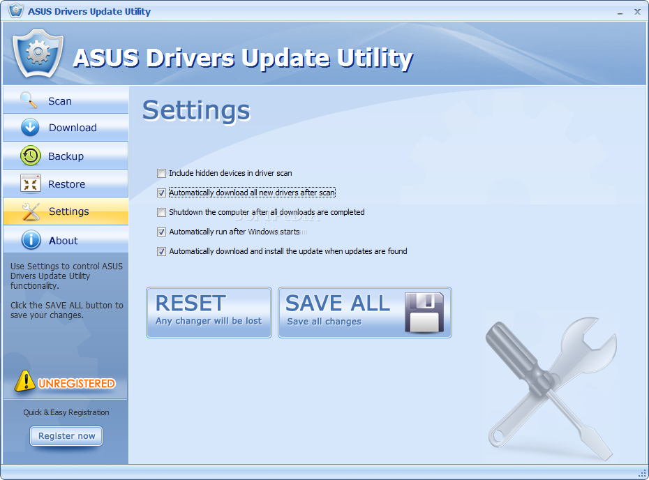 Download Asus Driver Update Utility