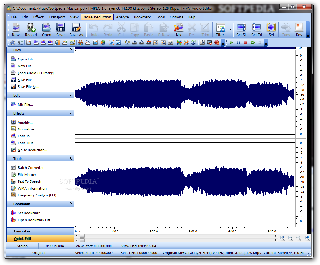 Download AV Audio Editor 7 5 6
