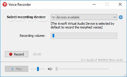 AV Voice Changer 6.0.10 serial key or number
