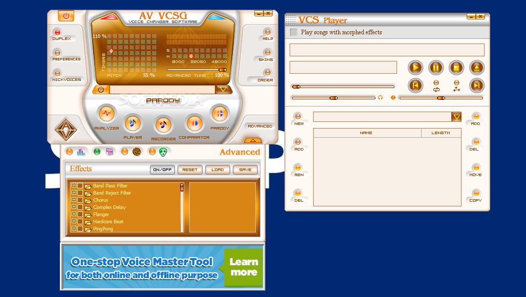 AV Voice Changer Software Free Download for Windows …