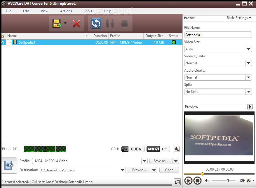 Download Avcware Dat Converter 6700913