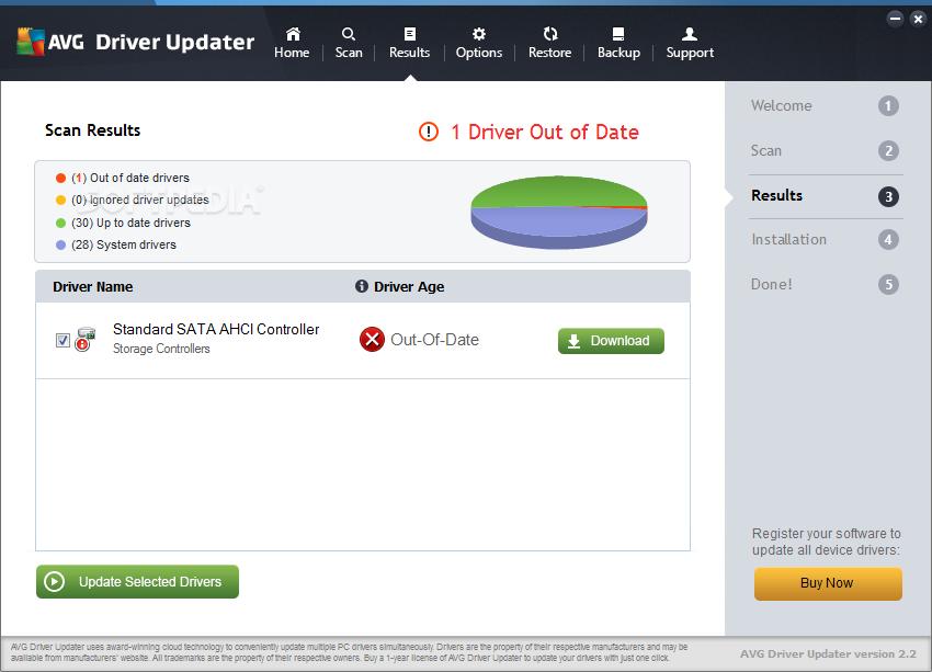 avg driver update license key